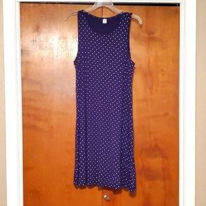 Old Navy LG sleeveless polka-dot dress